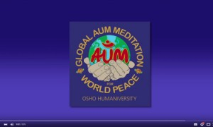 Veeresh Introduces the Global AUM Meditation for World Peace